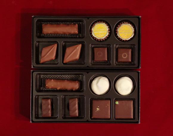 イルサンジェーのチョコレート7粒入り