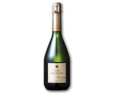 シャンパン「ピエール ミニョン」