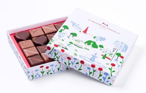 ラ・メゾン・デュ・ショコラ バレンタインチョコレート2018「ジャルダン パリジャン」