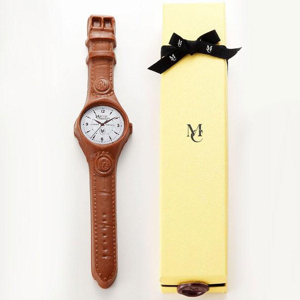 メゾン・ショーダン「腕時計型チョコレート」