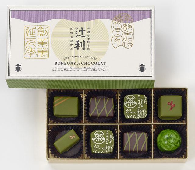 huge discount 3f899 16ef5 宇治抹茶チョコレートの新提案!京都「辻利」のバレンタイン